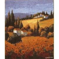 Best Tuscan Poppies tapestry wholesale