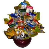 Quality Gourmet Gold Candy Bouquet for sale