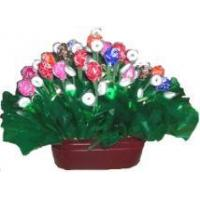 Quality Basket of Cheer Candy Bouquet for sale