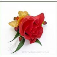 Best Outdoor Planted Containers Red Berry Boutonniere wholesale