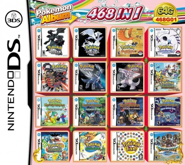 Nintendo Ds Pokemon Games : Archives nikolmaran