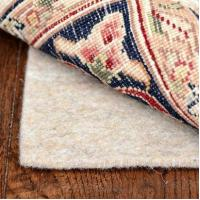 Quality 5x8 Deluxe 1/4 Inch Thick 100% Felt Jute Area Rug Pad for Hard Floors for sale