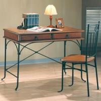 Quality Casual 2 PC 2-Drawers Table Desk and Chair for sale