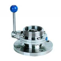 Quality Single flange single threaded butterfly valve for sale