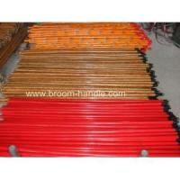 Quality PVC coated wooden broom handle 18 for sale