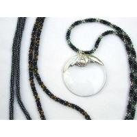 Quality Sale Items Crystal Bead Menu Reader/Monocle Chain for sale