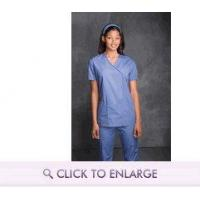 Best Mock Wrap Scrub Tunic by Cherokee Authentic Workwear wholesale
