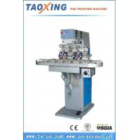 Best TXC4-175-150 Pneumatic four colors pad printing machine with conveyor wholesale