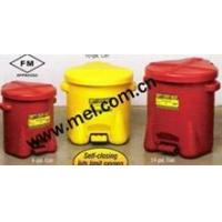 Quality EAGLE Polyethylene Oily Waste Cans for sale