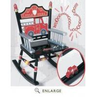 Fire Engine Rocker Chair Levels of Discovery RAB00024 (Shipping Included)