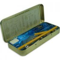 Quality Tin Pencil case set for sale