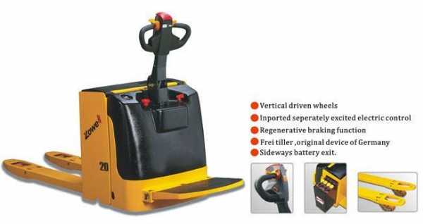 China Forklift Truck XP Electric operated pallet truck