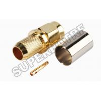 Best RP-SMA Crimp Plug(female pin) connector for RG6 wholesale