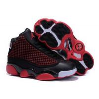 Quality Kids Air Jordan 13 Black Red for sale