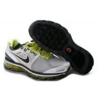 Quality Kids Nike Air Max 2009 IV White Black Gray YellowGreen for sale
