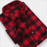 Quality Men Shirt Men's long-sleeved shirt Slim wear Mao Gezi Shirts for sale