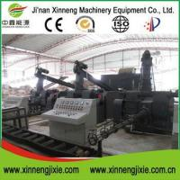 3t/h 80mm biomass corn cob husk briquette press machine