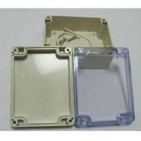 Quality Plastic injection parts ABS sealed plastic waterproof enclosure for sale