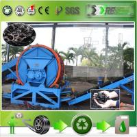 Semi-Automatic tyre crushing machine