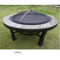 China Fire pit new round patio fire pit stone on sale