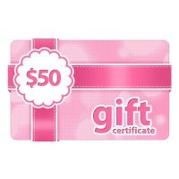 Quality $50 Gift Certificate for sale