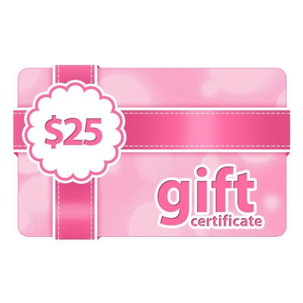 Buy $25 Gift Certificate at wholesale prices