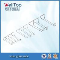 Quality cheap hanging wine glass rack wholsale for sale