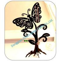 Quality Butterfly shaped metal jewelry display holder for sale