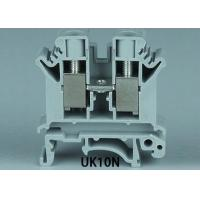 Quality 2.0MM UK10N Din rail terminal block for sale