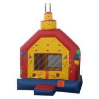 China Birthday Cake Bounce House Ships within 24-72 hours via Freight Truck on sale