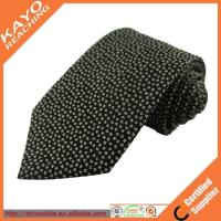 100% fashion import black necktie