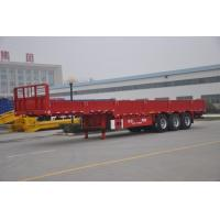 Gooseneck side wall semi trailer