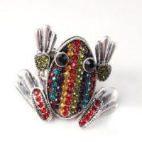 Hot Sell Animal Ring Colorful Frog Rings
