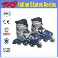 Quality 4 wheels adjustable inline skates with CE for sale