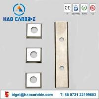 Quality Customized tungsten carbide wood cutting inserts for sale