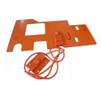 Custom Silicone Rubber Hot Pad 12V Manufacturer