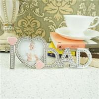 Quality Metal photo frame / fathers day gifts for sale