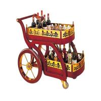 Luxury Two Layers Classical Hotel Liquor Cart