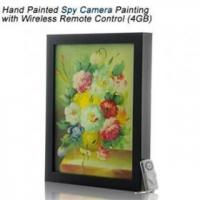 Quality Free shipping Hand Painted Spy Camera Wireless Remote Control for sale