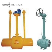 Quality Buried (buried) type of all welded ball valve for sale