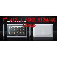 Best Tablet PC HOT--7.0 inch tablet PC,Boxchip A13 1Ghz,512M/4G,Best price wholesale