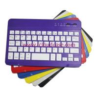Quality BT15 7inch Slim Bluetooth Keyboard Compatiable with Apple OS,Windows, Android,6Colors.Hot Selling for sale