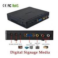 Quality Battery Powered Electronic Advertising Display Screen Media Player TV Box for sale