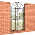 "Quality Abbey Trading 8031003 76"" X 33"" Windsor Iron Gates for sale"