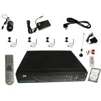 China 4 Channel DVR for Wired Mini Cameras with GSM Alarm System on sale