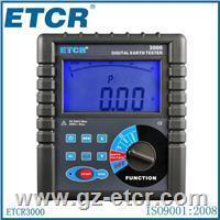 China ETCR3000 Digital Clamp-On Ground Resistance Tester Meter on sale