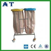 Quality Hospital waste bin with two Nylon bags for sale