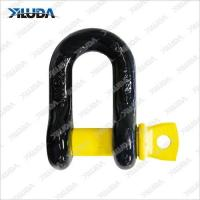 Best D-Shackle Black Body & Yellow Pin wholesale