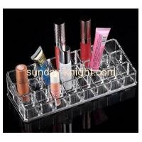 Quality Custom fashion design acrylic make up lipstick organizer MDK-048 for sale