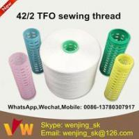 Quality 42s/2 semi-dull sewing thread manufacturer in indonesia for jeans for sale